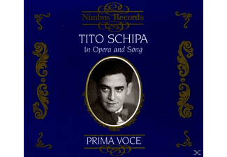 VARIOUS, Tito Schipa - Schipa In Opera And Song - (CD)