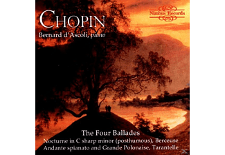 Bernard Ascoli - Chopin The Four Ballades - (CD)