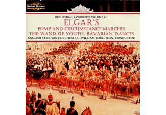 BOUGHTON & ENGLISHSYM.ORCH., William Boughton English String Orchestra - Elgar Orchestral Works - (CD)