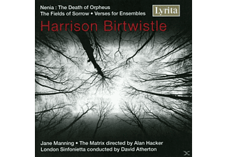 MANNING,JANE & HACKER,ALAN - Harrison Birtwistle: Nenia, The Fields of Sorrow, Verse for - (5 Zoll Single CD (2-Track))