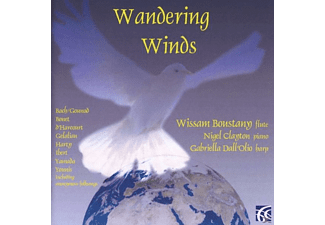BOUSTANY: FLUTE, CLAYTON: PIANO, DA - Wandering Winds - (CD)