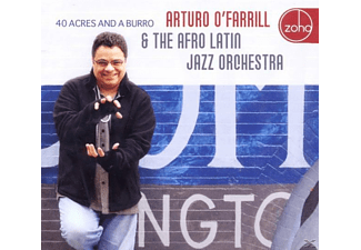 O'Farrill, Arturo / Afro-Latin Jazz Orchestra, The - 40 Acres And A Burro [CD]