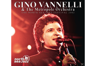 Gino Vanelli & The Metropol Orchestra - The North Sea Jazz Festival 2002 [CD]