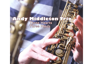 Andy Middleton Trio - Three Hearts,Three Minds - (CD)