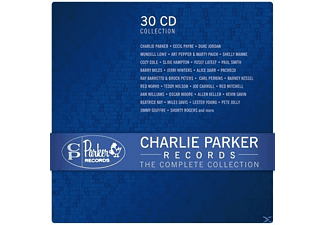 Parker,Charlie/Payne,Cecil/Norvo,Red/Various - Charlie Parker Records-The Complete Collection - (CD)