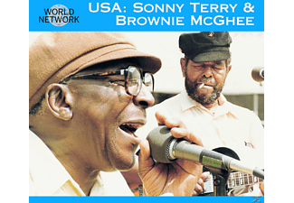 Sonny Terry, Terry, Sonny & McGhee, Brownie - USA - (CD)