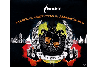 Tigerstyle - Mystics,Martyrs and Maharajas - (CD)