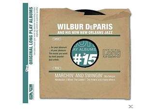 Wilbur Deparis - Marchin  & Swingin - (CD)