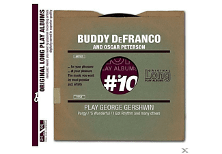 Peterson, Oscar / DeFRANCO, Buddy - Play George Gershwin - (CD)