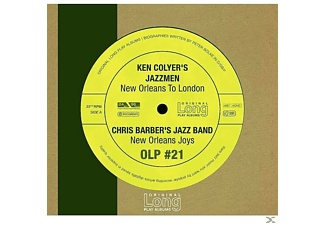 Colyer S Jazzmen, COLYER,KEN & BARBER,CHRIS - New Orleans To London [CD]