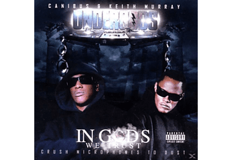 Keith (undergods) Canibus & Murray - In Gods We Trust,Crush Microphones To.. - (CD)