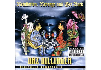 Daz Dillinger - Retaliation,Revenge & Get Back - (CD)