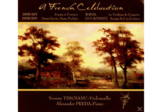TIMOIANU,Yvonne/PREDA,Alexander - A French Celebration - (CD)