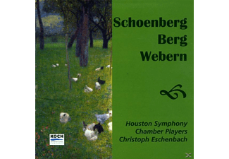 Christoph Eschenbach, HOUSTON SYMPH.CHAMB - 5 Orchestral Pieces/4 Pieces/+ [CD]