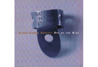 Alison Brown - OUT OF THE BLUE - (CD)