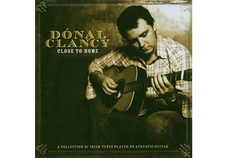 Dónal Clancy - CLOSE TO HOME - (CD)