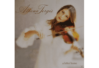 Athena Tergis - A LETTER HOME - (CD)