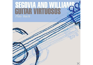 Andrés Segovia - Segovia & Willians-Guitar Virtuosos Play Bach - (CD)