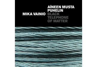 Mika Vainio - BLACK TELEPHONE OF MATTER - (CD)