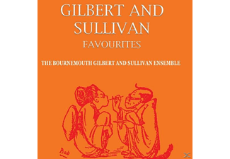The Bournemouth Gilbert And Sullivan Ensemble - Gilbert & Sullivan Favourites - (CD)