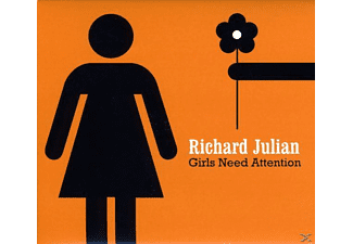 Richard Julian - GIRLS NEED ATTENTION - (CD)