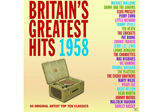 VARIOUS - Britain's Greatest Hits 1958 - (CD)
