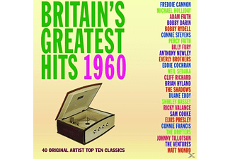 VARIOUS - Britain's Greatest Hits 1960 - (CD)