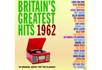 VARIOUS - Britain's Greatest Hits 1962 - (CD)