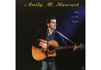ANDY M. Stewart - MAN IN THE MOON - (CD)