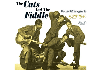 The Cats, Fiddle - We Cats Will Swing For You Vol - (CD)