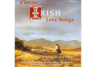 VARIOUS - Classic Irish Love Songs Vol.1 - (CD)