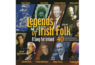 VARIOUS - A Song For Ireland - Legends Of Irish Folk - (CD)