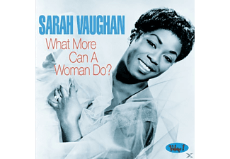 Sarah Vaughan - What More Can A Woman Do - (CD)
