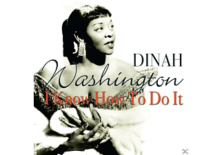 Dinah Washington - I Know How To Do It - (CD)