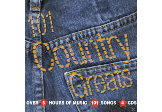 VARIOUS - 101 Country & Western Greats - (CD)