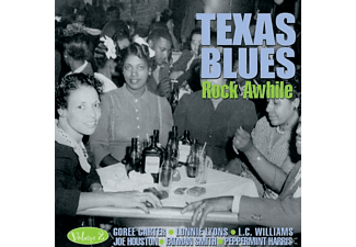 VARIOUS - Texas Blues Vol.2-Rock Awhile - (CD)