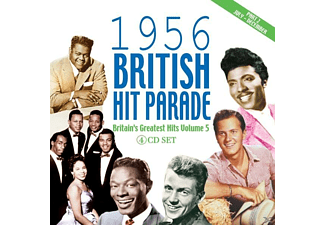 VARIOUS - The 1956 British Hit Parade Pt.2 - (CD)