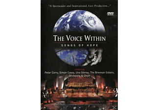 Peter Corry, Una Gibney, Simon Casey, The Brennan Sisters - The Voice Within - Songs Of Hope - (CD + DVD)