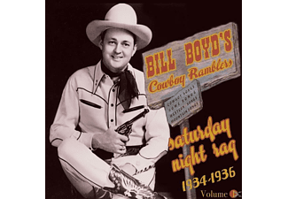Bill Boyd's Cowboy Ramblers - Saturday Night Rag (1934-36) - (CD)