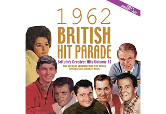 VARIOUS - The 1962 British Hit Parade: Britain's Greatest Hits Vol. 11 - (CD)