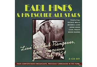 Earl Fatha Hines, His Esquire All Stars, VARIOUS - Live At Club Hangover,San Francisco Jan.-Feb.1954 - (CD)