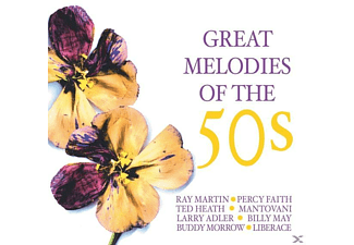 VARIOUS - Great Melodies Of The 50's - (CD)