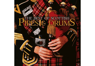 VARIOUS - The Best Of Scottish Pipes & Drums - (CD)