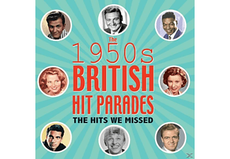 VARIOUS - The 1950s British Hit Parades - The Hits We Missed - (CD)