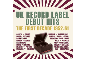 VARIOUS - UK Record Label Debut Hits - The First Decade (1952-61) - (CD)