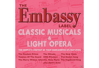 VARIOUS - The Embassy Label-Classic Musicals & Light Opera - (CD)