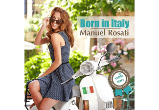 Manuel Rosati - Born In Italy - (CD)