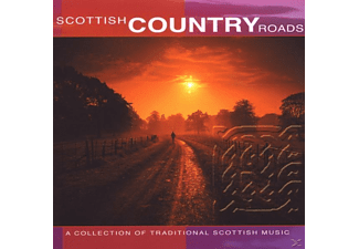 Scottish Country Roads - Collection of Traditional Scottish Music - (CD)
