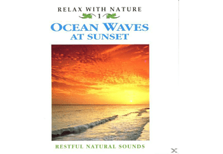 Natuurgeluiden (zonder Muziek), Restful Natural Sounds - Ocean Waves At Sunset - (CD)