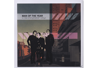 Man Of The Year - A new and greater tokyo - (CD)